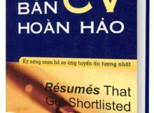 sách kỹ năng xin việc Bản CV hoàn hảo - vikwi cho thuê sách